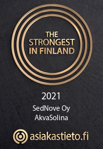 the strongest in finland sednove akvasolina